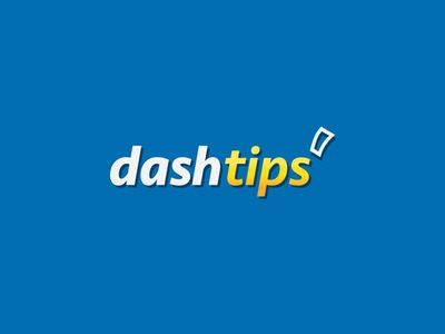 Dash Tips Branding WIP wip smart simplicity blue logo illustration identity business branding bold betting app
