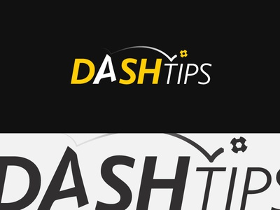 Dash Tips Branding WIP football betting bold branding business identity illustration logo yellow simplicity smart wip