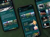 FishingSpots - iPhone X Mobile App