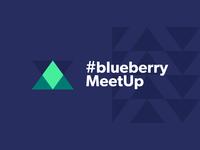 #blueberryMeetUp Branding