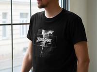 Liquid Spirit Crew - T-shirt