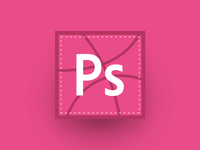 Dribbble Sticker - Photoshop