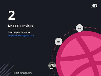2 Dribbble Invites dribbble invites