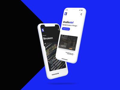 Mobile design | Studio Slof branding uxuidesign web ux webdesigns agency webdesign uiuxdesign uiux ui studio design