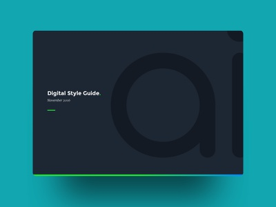 Colours AI Identity styleguide cover ai colours ai identity graphic design typography artificial intelligence product