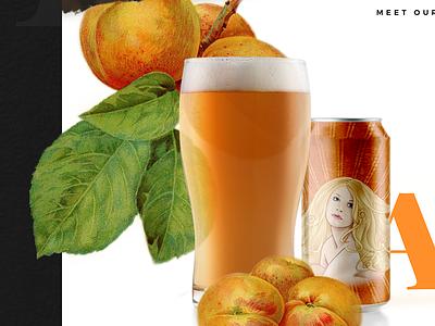 Dry Dock Beer Website  typography beer website beer display beer