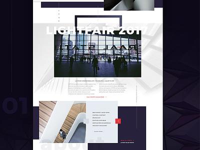 All Of the Lights website design website