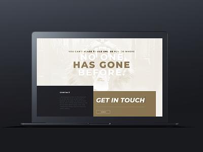 Website Design for Corporate Fitness Mogul ux ui branding website design