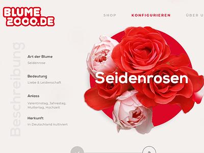 Made For You flowers website website design ux ui