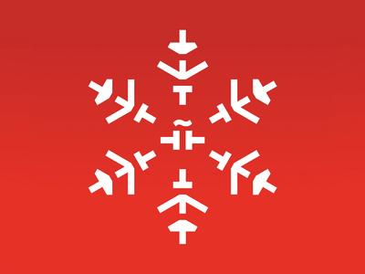 Instituto Cervantes Christmas illustration instituto cervantes advertising red spain snow illustration christmas