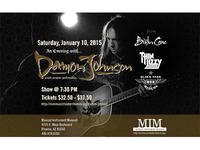 Damon Johnson Concert Poster