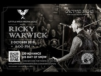 Ricky Warwick Concert Poster