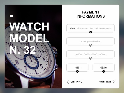 Daily UI 002 - Credit card chechout credit cart checkout credit card daily ui checkout cart credit 002 ui daily
