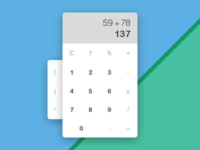 Daily UI 004 - Calculator daily ui 004 calculator ui daily