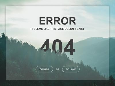 Daily UI 008 - 404 Page 404 page daily ui page 404 008 ui daily