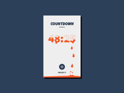 Daily UI 014 - Countdown daily ui countdown 014 ui daily