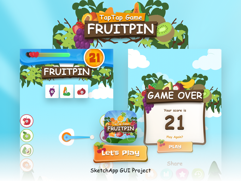 Game UI Design by Syaiful Anshor on Dribbble