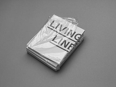 LIVING LINE - book typography typo graphic design graphics design editorial book