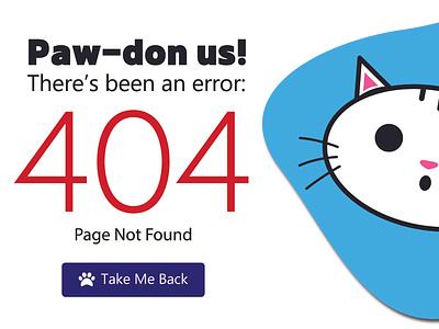 404 error illustration ux challenge html design