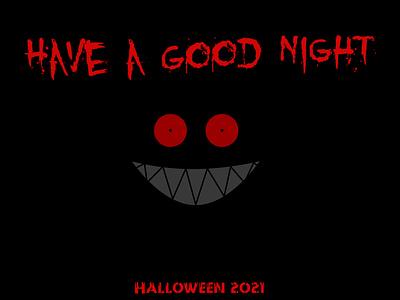 Have a Good Night weeklywarmup illustration halloween graphic design