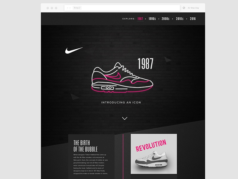 pretty nice 5ccd3 e72c8 Nike Air Max Timeline