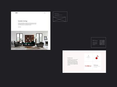 DBNY - Case studies case studies layout dbny ecommerce agency website web agency consistency modular design website template modular project case study webdesign design ui