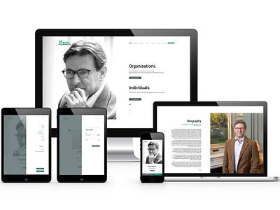 Talent Impacts | The UX Studio typography branding web design visual designer portfolio website minimal digital design ui design