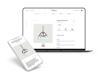 Creations By Clodagh | The UX Studio ux web typography branding web design website visual designer portfolio ui digital design design