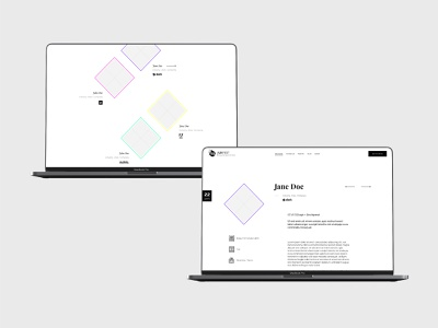 UX Fest - Concept Project | The UX Studio ux web typography branding web design minimal website visual designer portfolio ui digital design design