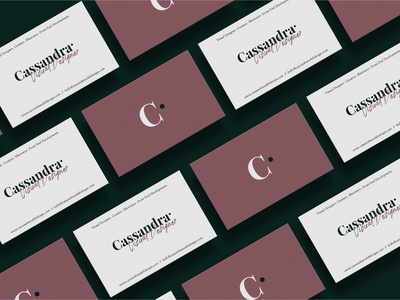 Personal Branding - Business Cards Concept