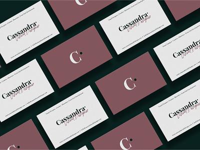 Personal Branding - Business Cards Concept business card concept design print design logo typography branding minimal visual designer portfolio design