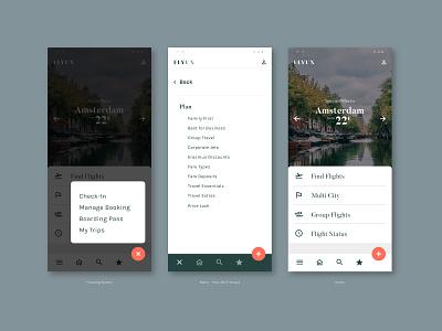 FlyUX - Concept Project Native App (coursework) figma high fidelity prototyping ux design concept design web design branding website visual designer portfolio ui digital design design