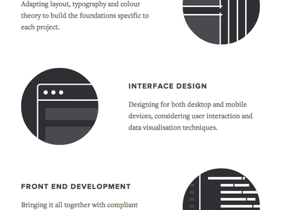 Portfolio Skills portfolio skills profile interface design development illustrations browser editor proxima nova freight text pro