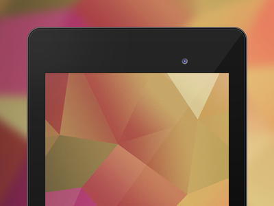 Nexus 7 Template android nexus tablet free google photoshop psd template download