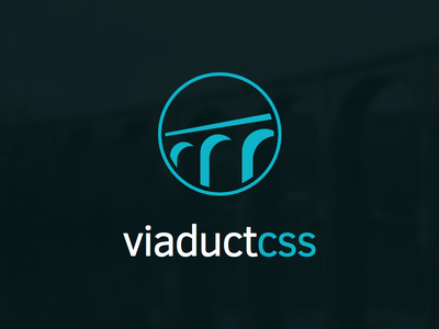 ViaductCSS Marque viaduct css logo marque brand framework bridge clear sans
