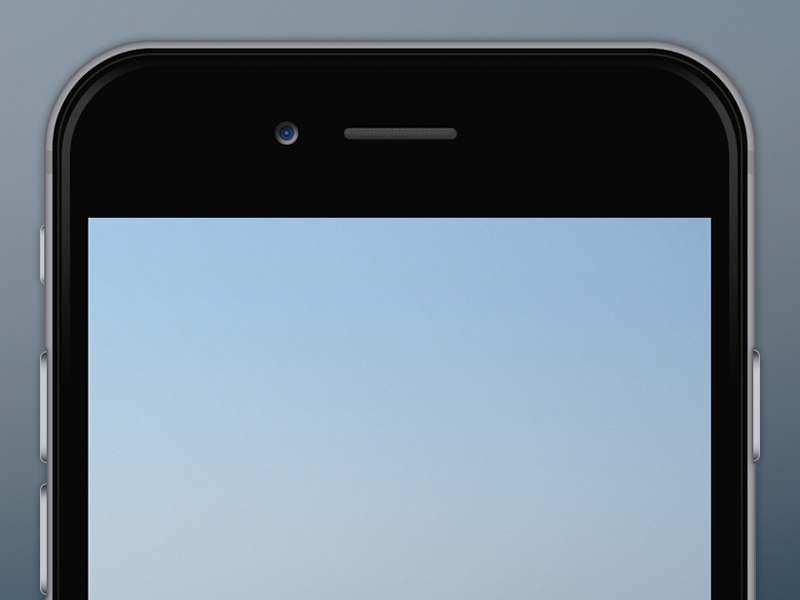iPhone 6 Template by Tim Gale - Dribbble