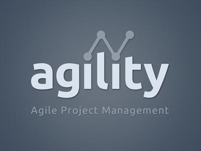 Agility Brand agile web app project management brand logo
