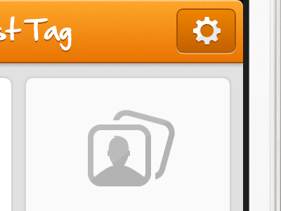Just Tag UI mobile iphone ios app ui tag glyph icon