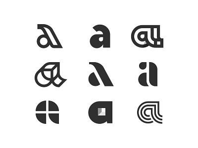 a logomark a typography symbol monogram mark logotype logo letters letter