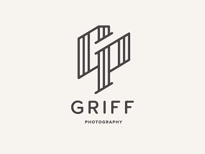 Griff Photography Logo Alt photography logo identity p g camera branding logomark