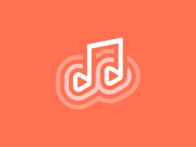 Play Music Icon sound music note note music play icon mark type logo