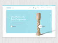 Custom Wood Components Homepage