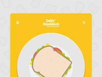Daily Sandwich web