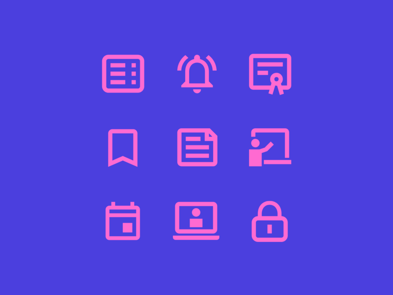 Lifescan Icon pack ux perfect iconography vector website branding web ui simple icon design