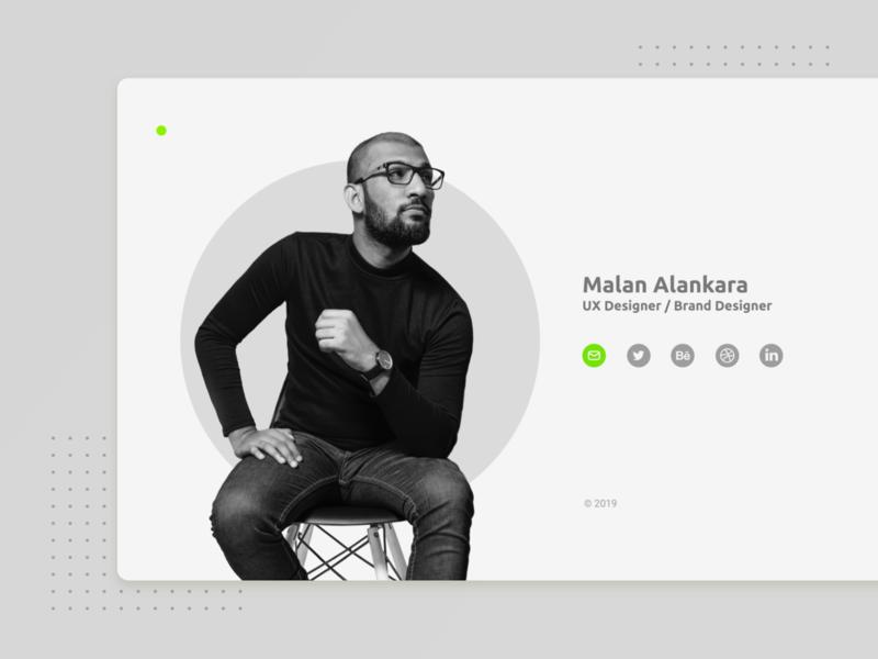 malankara.online minimalism animation clean ui icon ux web branding simple design