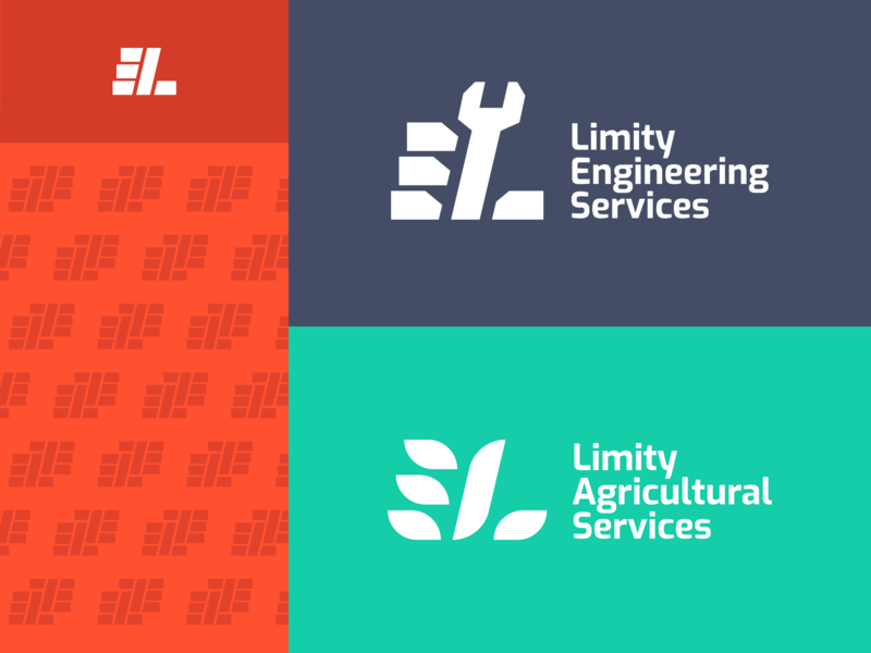 Limity Sub-branding engineering agriculture flat logogram minimalistic perfect multichannel branding simple logo design