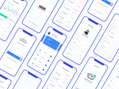 HNB Digital Banking - SeedBag Project sri lanka banking clean ux app illustration branding icon ui simple design