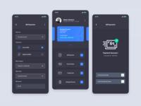 Online Banking - Dark Mode
