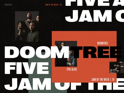 Jam of The Week  | 78 groovin jamming album art music minnesota hiphop jam of the week product design cool vector illustration branding typography design graphic design