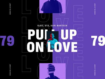 Jam of the Week | 79 instrumental hip hop typedesign jam of the week product design cool music typogaphy bold type sans type illustration branding typography graphic design design